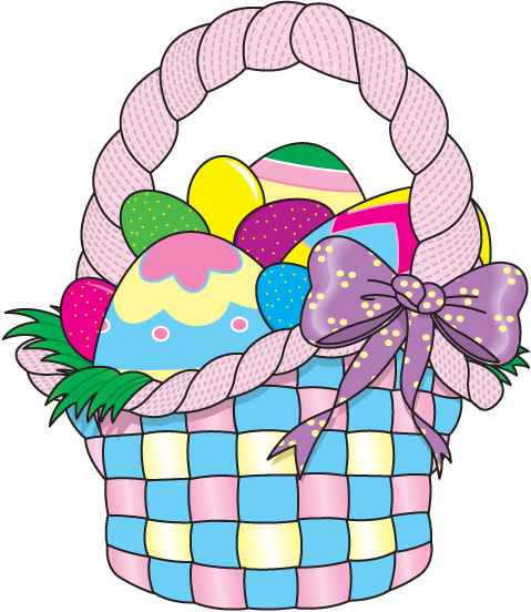 clip art for easter baskets - photo #28